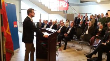 Rede beim Neujahrsempfang 2016, SPD Weilheim