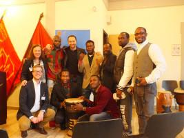 Neujahrsempfang 2016, SPD Weilheim; mit den Musikern Michael and friends