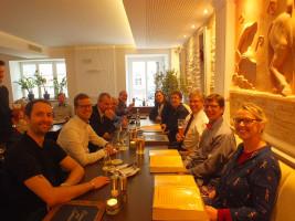 Der SPD Vorstand Weilheim nach erfolgreichem Neujahrsempfang 2016