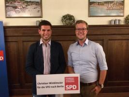 Aufstellungskonferenz des Bundeswahlkreises Starnberg-Landsberg; herzlichen Glückwunsch an Christian Winklmeier