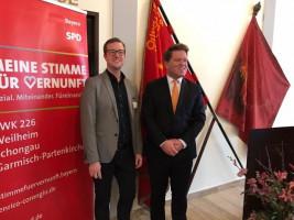 Neujahrsempfang 2017 der SPD Weilheim; mit Florian Post, MdB