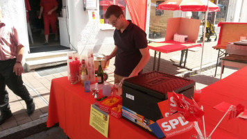 In Aktion: Oberstadtler Fest 2015 als Barmixer